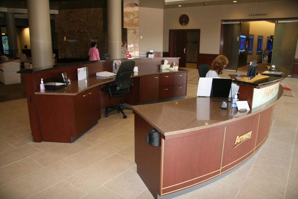 Amway Reception Desk | Zodiaq