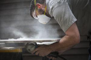 Cutting Granite